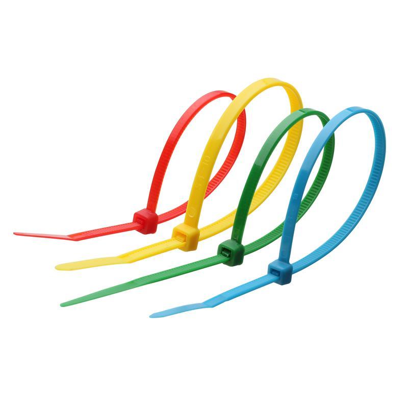 Кабельные стяжки нейлоновые стандартные цветные