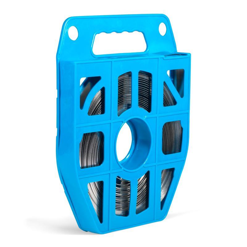 Лента монтажная из нержавеющей стали AISI 304 в пластиковой кассете (25м)