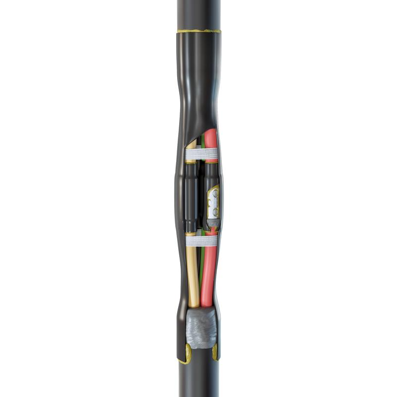 Соединительная кабельная муфта для кабелей с резиновой изоляцией до 1кВ