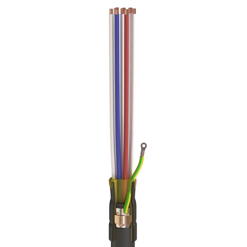 Концевые муфты внутренней установки для контрольных кабелей с пластмассовой изоляцией до 1кВ