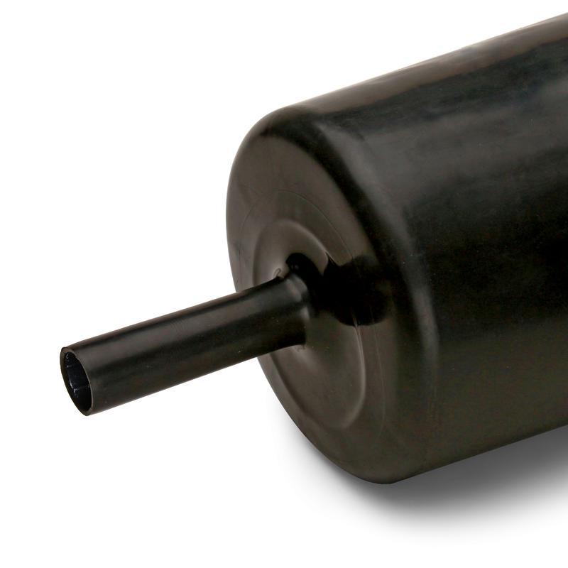 Термоусадочная трубка с клеевым слоем и коэффициентом усадки 6:1