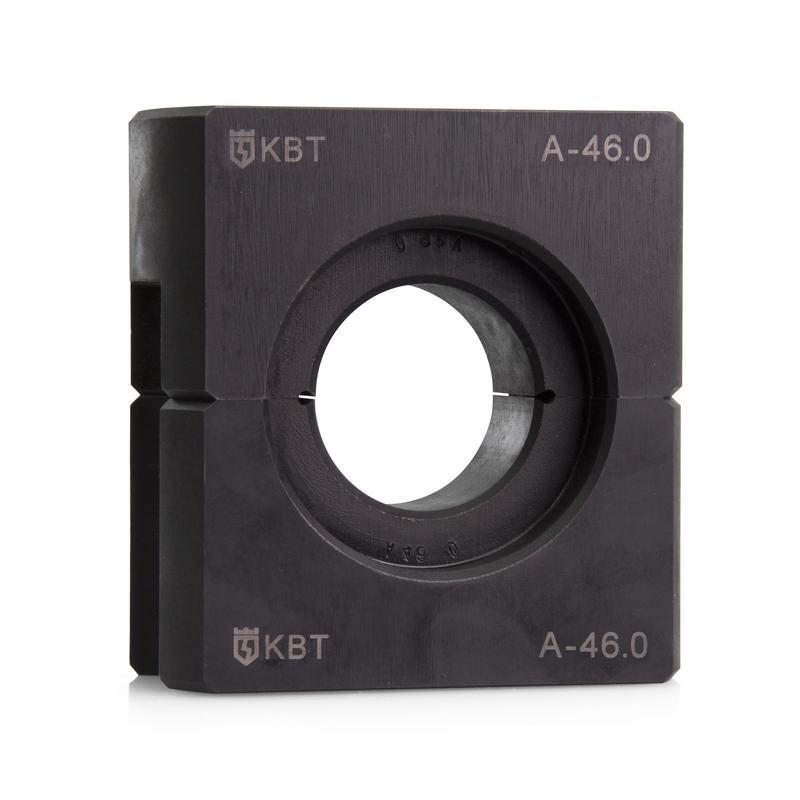 Матрица с шестигранным профилем обжима для пресса гидравлического ПГ-100 тонн при опрессовке алюминиевых зажимов на ВЛ